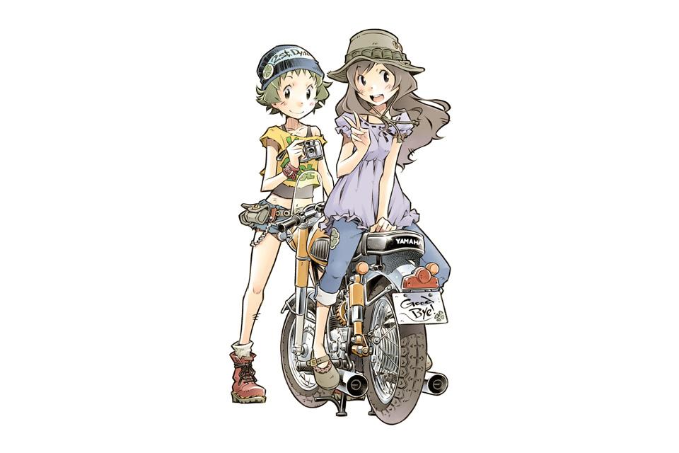 【バイク漫画】ばくおん作者も歓喜!「グッバイエバーグリーン」が面白い