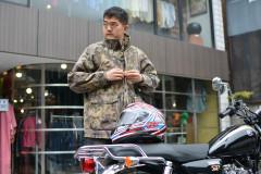 【追求】フルフェイス×ミリタリー古着の組み合わせは、意外にもアリ!?ヘルメットファッション企画第二弾!