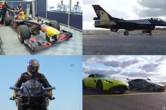 【最速】バイクVS戦闘機VSスーパーカーで直線勝負したら何が勝つ?前代未聞の最速対決の結果…
