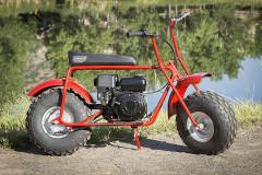キャンプだけじゃない!コールマンから発売されている遊び専用バイク「CT200U」が可愛かった