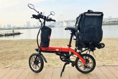 デリバリー勢必見、電動バイク「grafit」を無料貸し出し中!デリバリー新規参入店も利用可能!